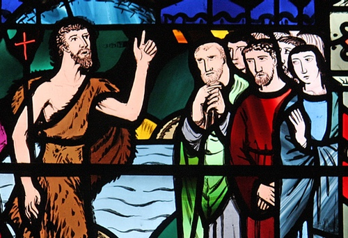 John the Baptist rebukes scribes and Pharisees